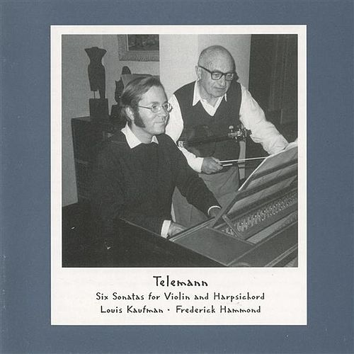 Telemann: Six Sonatas for Violin and Harpsichord by Various Artists