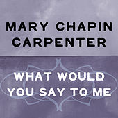 What Would You Say To Me by Mary Chapin Carpenter