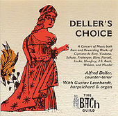 Deller's Choice by Alfred Deller