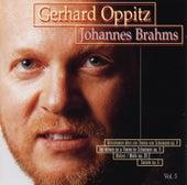 Brahms: Variations Schumann, Waltz 39, Sonata 5 by Gerhard Oppitz