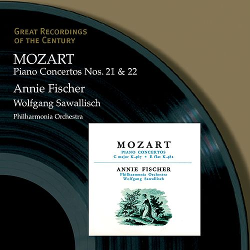Play & Download Piano Concertos Nos. 21 & 22 Annie Fischer by Wolfgang Amadeus Mozart | Napster