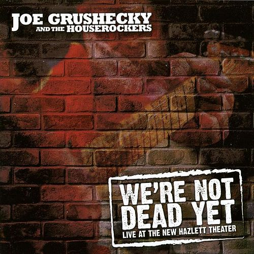 Play & Download We're Not Dead Yet: Live At The New Hazlett Theater by Joe Grushecky | Napster