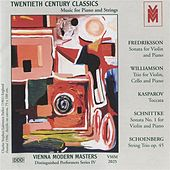 Distinguished Performers, Series 3: Music for Piano and Strings by Various Artists