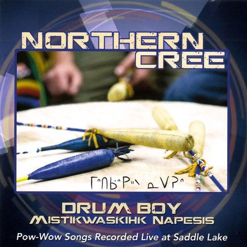 Mistikwaskis Napesis - Drum Boy by Northern Cree