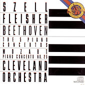 Play & Download Beethoven:  Five Piano Concertos & Mozart:  Concerto No. 25 in C Major for Piano and Orchestra, K. 503 by George Szell | Napster