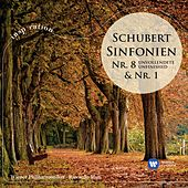 Schubert: Symphonies Nos 1 & 8 (International Version) by Wiener Philharmoniker