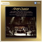 Play & Download Verdi: Don Carlo (highlights) by Herbert Von Karajan | Napster