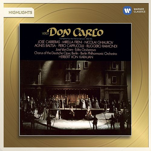 Verdi: Don Carlo (highlights) von Herbert Von Karajan