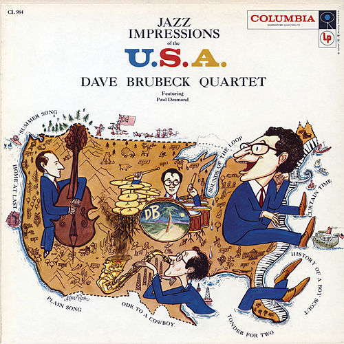 Play & Download Jazz Impressions Of The U.S.A. by Dave Brubeck | Napster