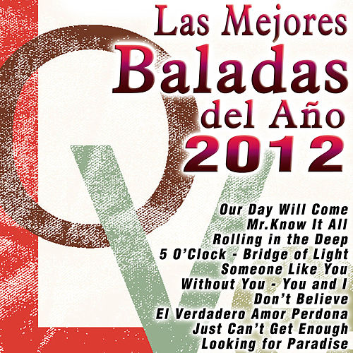 Play & Download Las Mejores Baladas del Año 2012 by D.in the Night | Napster