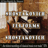 Play & Download Shostakovich Performs Shostakovich Volume One by Dmitri Shostakovich | Napster