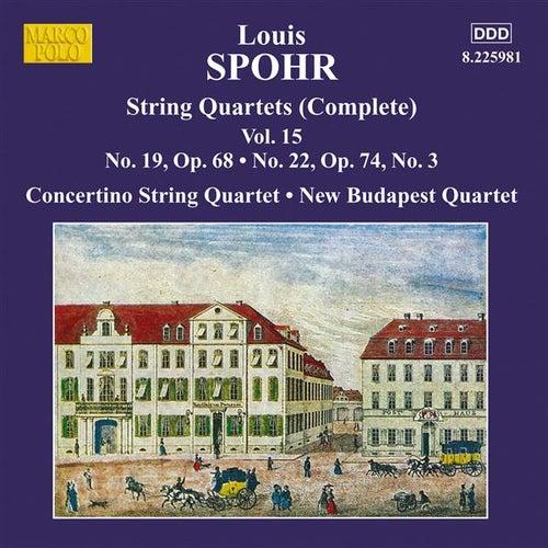 Spohr: Complete String Quartets, Vol. 15 by Various Artists