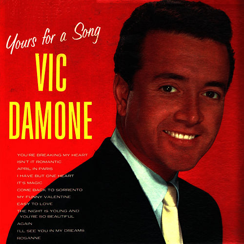 Yours for a Song by Vic Damone