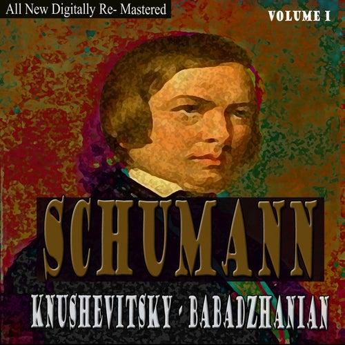 Schumann, Babadzhania -  Knushevitsky  Volume 1 by Sviatoslav Knushevitsky