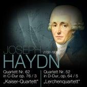 "Play & Download Haydn: Quartett Nr. 62 in C-Dur op. 76/3 ""Kaiser-Quartett"" & Quartett Nr. 52 in D-Dur, op. 64/5 ""Lerchenquartett"" by Das Große Klassik Orchester | Napster"