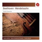 Play & Download Beethoven: Violin Concerto; Mendelssohn: Violin Concerto by Jascha Heifetz | Napster