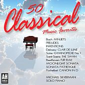 50 Classical Music Favorites: Bach: Minuets, Debussy: Clair De Lune, Satie: Gymnopedie, Beethoven: Fur Elise, Moonlight Sonata by 50 Classical Music Favorites