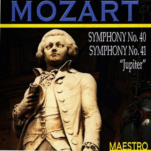 Play & Download Mozart: Symphony No. 40 - Symphony No. 41 'Jupiter' by Slovak Philharmonic Orchestra | Napster