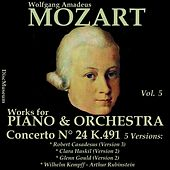Mozart, Vol. 5 : Concertos K491 by Various Artists