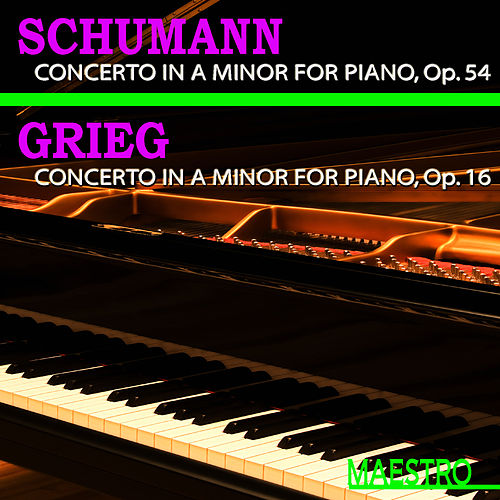 Play & Download Grieg: Piano Concerto in A Minor - Schumann: Piano Concerto in A Minor by Slovak Philharmonic Orchestra | Napster