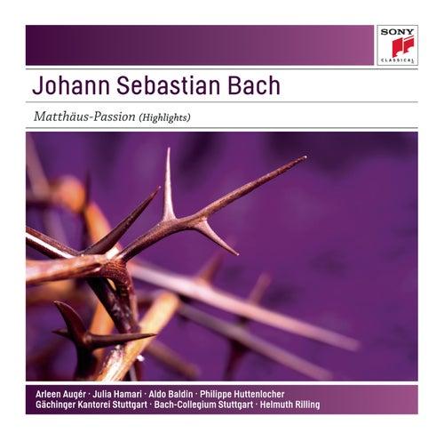 Play & Download Johann Sebastian Bach: Matthäus-Passion (Highlights)  - Sony Classical Masters by Helmut Rilling | Napster