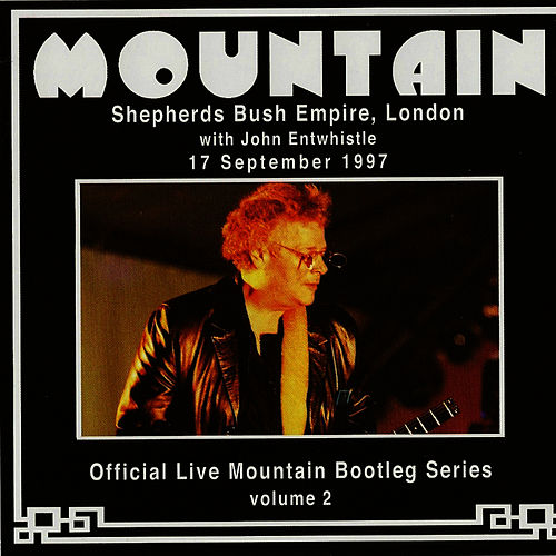 Official Live Mountain Bootleg Series, Volume 2 by Mountain