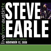 Live From Austin TX '00 by Steve Earle