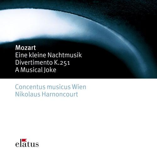 Mozart : Serenade No.13, 'Eine kleine Nachtmusik', Divertimento No.11 & A Musical Joke von Nikolaus Harnoncourt