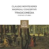 Monteverdi : Madrigali Concertati by Viveca Axell, John Potter, Douglas Nasrawi, Harry van der Kamp, Stephen Stubbs