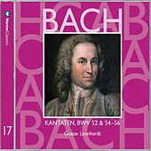 Bach, JS : Sacred Cantatas BWV Nos 52 & 54 - 56 by Gustav Leonhardt