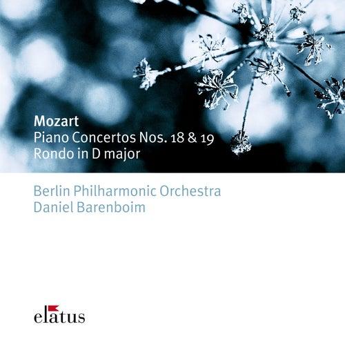 Play & Download Mozart : Piano Concertos Nos 18, 19, Rondo K382 by Daniel Barenboim | Napster