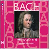 Bach, JS : Sacred Cantatas BWV Nos 41 - 43 by Nikolaus Harnoncourt