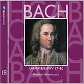 Bach, JS : Sacred Cantatas BWV Nos 57 - 60 by Nikolaus Harnoncourt