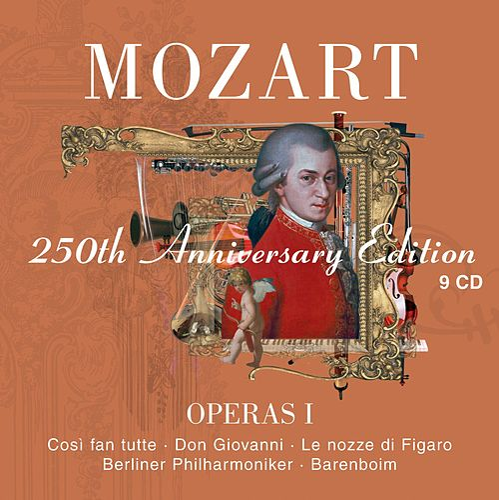 Mozart : Operas Vol.1 [Così fan tutte, Don Giovanni, Le nozze di Figaro] by Various Artists