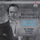 Beethoven : Symphonies Nos 2 & 5 by Nikolaus Harnoncourt