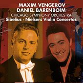 Play & Download Nielsen & Sibelius : Violin Concertos by Maxim Vengerov | Napster