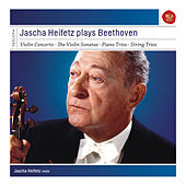 Jascha Heifetz plays Beethoven (Sonatas & Concerto) by Various Artists