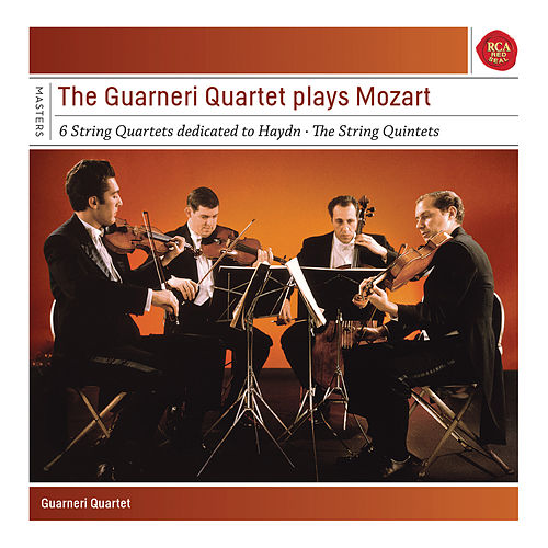 Guarneri Quartet plays Mozart Quartets and Quintets by Guarneri Quartet