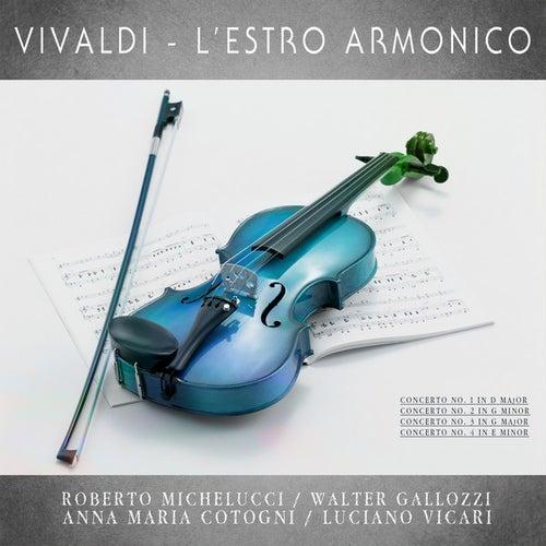 Play & Download Vivaldi - L'estro Armonico (Remastered) by Roberto Michelucci | Napster