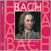 Bach, JS : Sacred Cantatas BWV Nos 35 & 36 by Nikolaus Harnoncourt