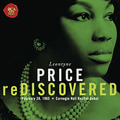 Leontyne Price - Carnegie Hall Recital Debut by Various Artists