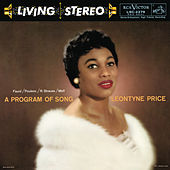 Leontyne Price - A Program of Song by Leontyne Price