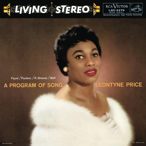 Leontyne Price - A Program of Song by Leontyne Price