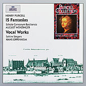 Purcell: 15 Fantasias & Vocal Works von Various Artists