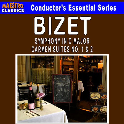 Play & Download Bizet: Symphony in C Major - Carmen Suites No. 1 & 2 by Ljubljana Symphony Orchestra | Napster
