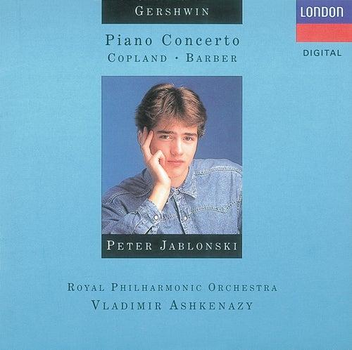 Gershwin: Piano Concerto/Copland: El salón Mexico, etc. von Peter Jablonski