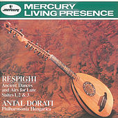 Respighi: Ancient Airs and Dances/Suites Nos.1-3 von Philharmonia Hungarica