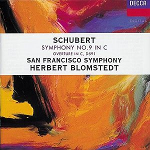 Schubert: Symphony No.9; Overture in C von San Francisco Symphony Orchestra