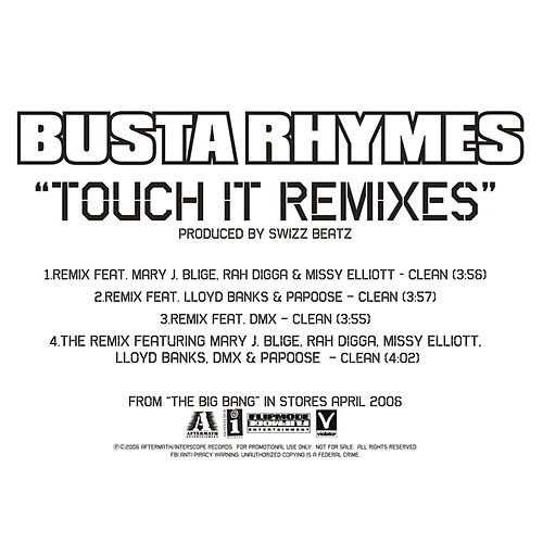 Touch It Remixes von Busta Rhymes