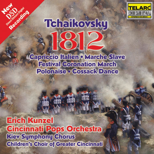 Play & Download Tchaikovsky: 1812 Overture by Erich Kunzel | Napster